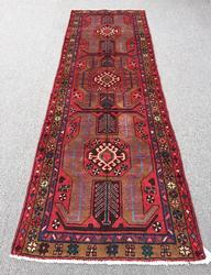Lovely Armenian Weave 1950s Authentic Handmade Vintage Persian Rug