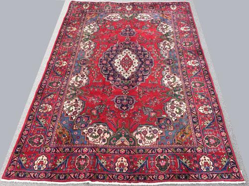 Fantastic Mid Century Authentic Handmade Vintage Persian Rug