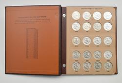 35 Coins - Franklin Half Dollars  1948-1963 - Complete Set