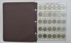 177 Coins - Washington Quarters  1932-1998 - Partial Set