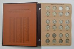 160 Coins - Washington Quarters  1932-1998 - Partial Set