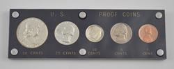 5 Coins - 1952 US Proof Coins Set