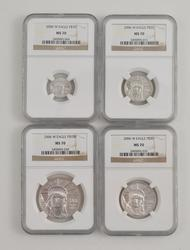 MS70 2006-W Platinum Eagle SET - NGC