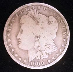 1900-O Micro-O Morgan Silver Dollar Uncirculated