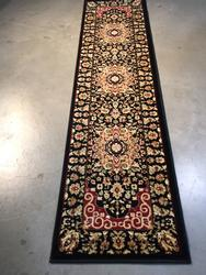 Detailed Traditional Design Area Rug 8ft Runner