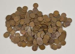 294 ($2.94) 1917-S Lincoln Wheat Cents Bag Rolls