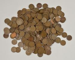 313 ($3.13) 1918-S Lincoln Wheat Cents Bag Rolls