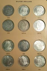 Full Morgan Dollar Set 1878-1921 Complete 95pc