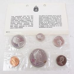 1965 Uncirculated Canada Coin Set