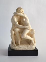 Collectible Vintage Signed Italian Nude Couple Figure