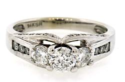 Multi Diamond Ring at 1.0 CTW