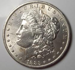 Brilliant Uncirculated 1883-O Morgan $