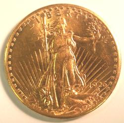 Key Date 1926-D $20 St. Gaudens Double Eagle