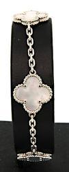 Van Cleef & Arpels Vintage Alhambra 5 Motif Bracelet