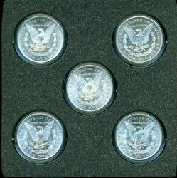 Choice BU Collection of 5 'S' Mint Morgans 1878-1882