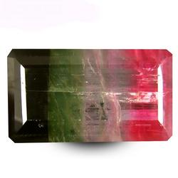Certified 39.34 carat watermelon Tourmaline
