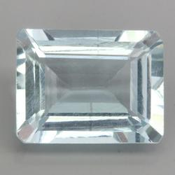 Beautiful 1.27ct pure Brazilian Aquamarine