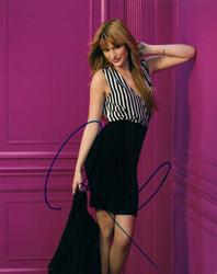 Bella Thorne Shake It Up Signed Autographed Photo UACC