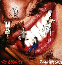 The Darkness Autographed Signed Pinewood Smile Album Co