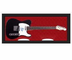 Jessica Simpson Signed Telecaster Guitar Display Case U