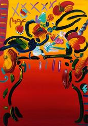 LATE ADDITION: All Original Peter Max Acrylic on Canvas