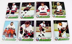 8 NY Islanders 1977 Topps Hockey Cards