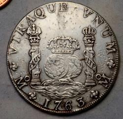 Choice 1763 Mexico City Pillar Dollar