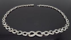Infinity Style Diamond Necklace 4.75CTW
