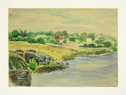 Extremely Rare Collectible Yakovlevich Watercolor