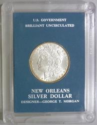 Lustrous BU 1885 New Orleans Mint Morgan Silver Dollar!