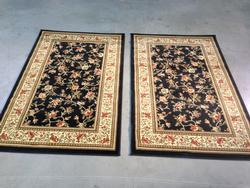 Traditional Allover Design Matching Pair 3x4 Area Rug