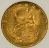 Basic Gem BU 1873 Denmark 20 Kroner Gold. NGC MS64