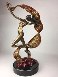 Very Rare Bronze Sculpture, Signed by the Artist W/ C.O.A