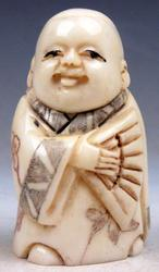 Japan Netsuke Hand Carved Sculpture