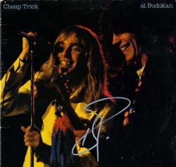 Robin Zander Autographed Cheap Trick At Budokan Album C