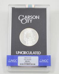 MS64+ 1883-CC Morgan Silver Dollar - Carson City - GSA Hoard - NGC Graded