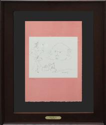 1965 PICASSO OFFSET LITHOGRAPH FROM SHAKESPEARE SUITE