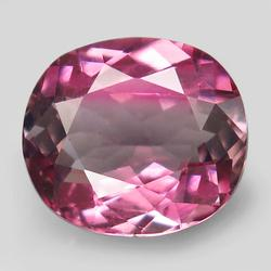 Striking 2.34ct divided color fancy Tourmaline