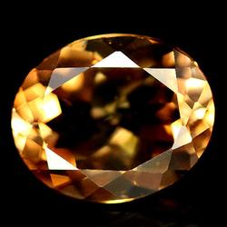 Gorgeous 4.52ct heavy flashing Brazilian Topaz