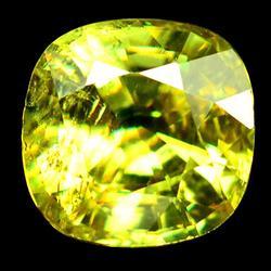 Shimmering 1.96ct untreated Ceylon Sphene