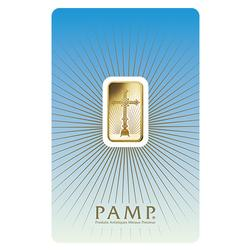 PAMP Suisse 5 Gram Gold Bar Romanesque Cross
