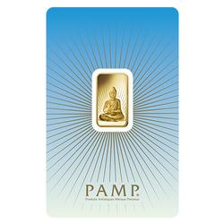 PAMP Suisse 5 Gram Gold Bar Buddha