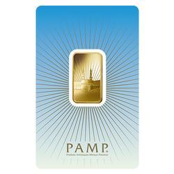 PAMP Suisse 10 Gram Gold Bar Ka'Bah Mecca