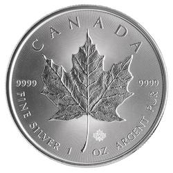 2014 Silver Maple Leaf 1 oz Uncirculated