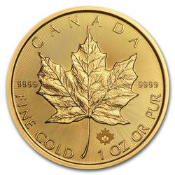 2018 1 oz Canadian Gold Maple Leaf Uncirculated