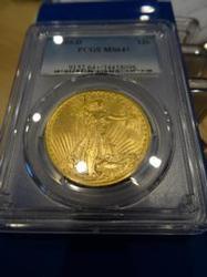 1909-D MS-64+ Saint Gaudens $20 PCGS