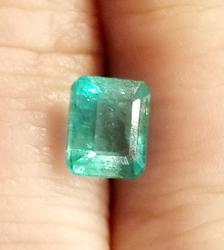 Stunning 1.48ct vivid green natural Emerald