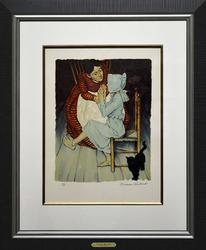 Norman Rockwell Hand Signed Original Lithograph