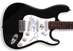 Idlewild Autographed Signed Guitar & Pro   AFTAL