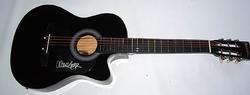 Allison Moorer Signed Acoustic/Electric Guitar PSA/DNA Certified AFTAL